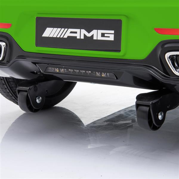 BENZ GT Car LZ-920 Dual Drive 35W*2 Battery 12V 2.4G Remote Control Green