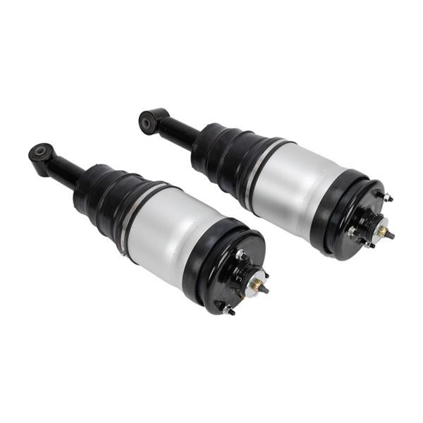 Complete Rear Air Suspension Shock Strut Spring Assembly Pair Set 2pc New