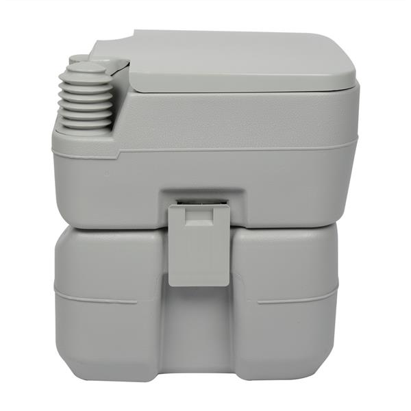 20L Portable Removable Flush Toilet with Double Outlet