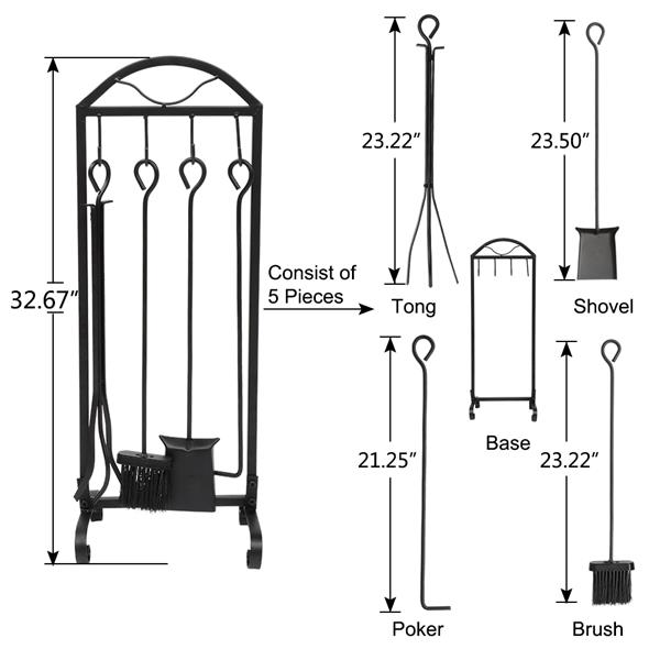 Stove Tool 5 In 1 Assembly Foot
