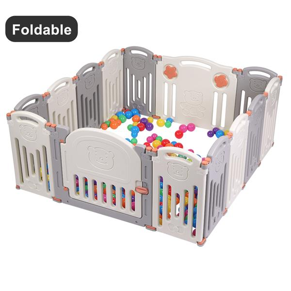 Extra large baby playpen fence