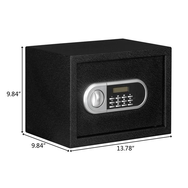 """Home Use Electronic Password Steel Plate Safe Box (13.8*9.8*9.8)"""""""
