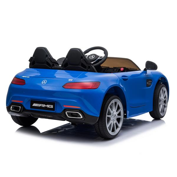BENZ GT Car LZ-920 Dual Drive 35W*2 Battery 12V 2.4G Remote Control Blue