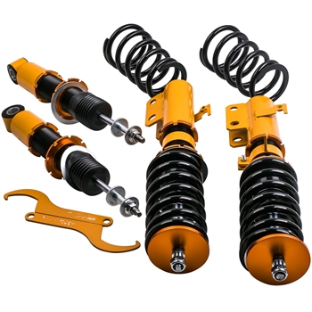 弹簧减震 4pcs Coilovers Kits For Toyota Corolla 03-08 Matrix Coil Over Shock Strut Coil