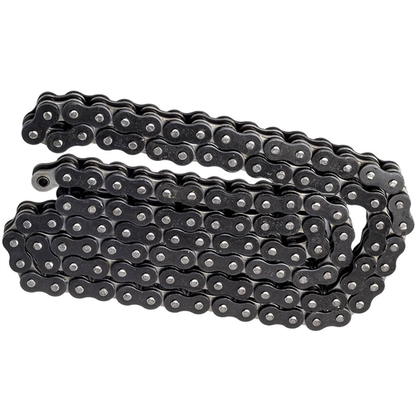 520 X 120 Links Motorcycle  W/ O-Ring Drive Chain 520-Pitch 120-Links Black