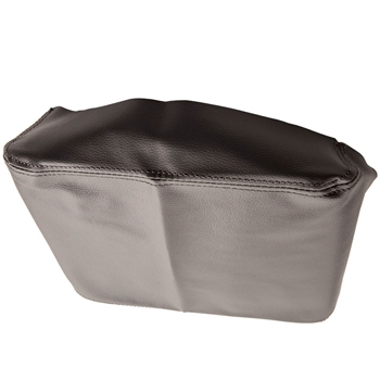 1pc Gray Leather Center Console Armrest Lid Cover fits for Toyota Tundra 2007-13