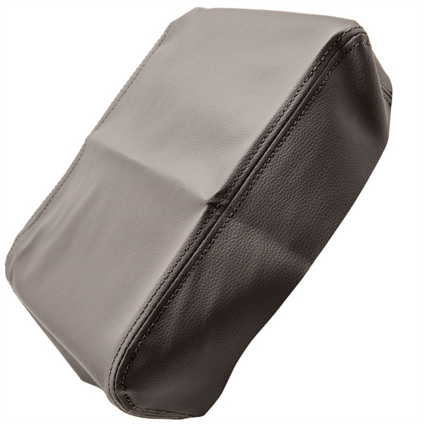 灰色皮革中控台扶手盖 1pc Gray Leather Center Console Armrest Lid Cover fits for Toyota Tundra 2007-13
