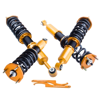 弹簧减震 4pcs Coilovers Kits For Lexus IS300 2001-2005 Adj Height Shock Struts Coil Over