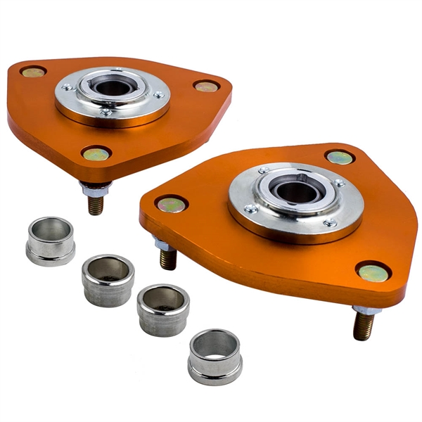 2 Pcs Front Mount Adjustable Camber Plates for Nissan 350Z  2003-2009