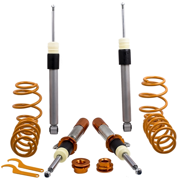 Adjustable Height Spring Strut Coilovers Kit for VW MK6 Golf GTI 2010-2014