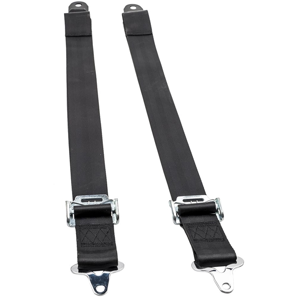 Safety Belt for most vehicle with racing seat feature