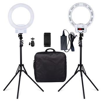 """12"""" LED Ring Lights and 2m Light Stands US Standard White(Do Not Sell on Amazon)"""
