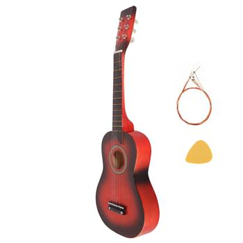 """25"""" Acoustic Guitar   Pick   String Red"""