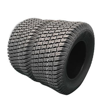 Pair of 18X7.5-8 4PR P332 Tubeless Lawn & Garden Tires 580LBS