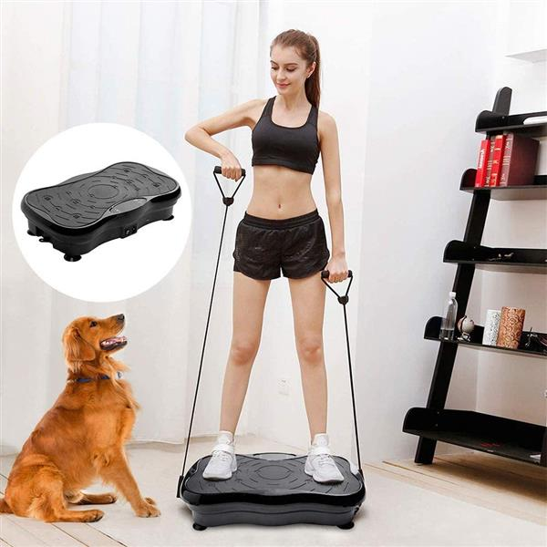Home Slimming Machine LCD Screen with Bluetooth Black