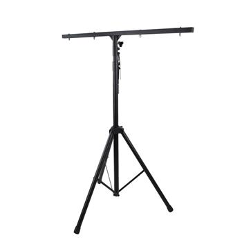 Professional T Bar DJ Stage LED Lights Stand Adjustable High 4.7 To 10 Feet, Support 8 Stage Lights At The Same Time, Suit For Stage Or Family