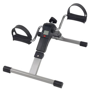 Home Use Hands and Feet Trainer Mini Pedal Exerciser Bike Black