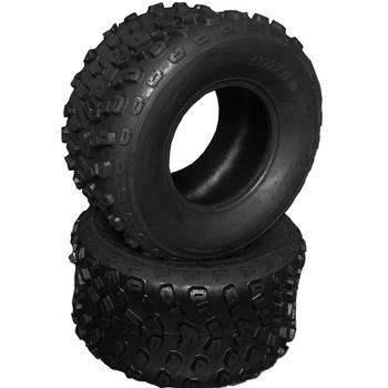 ATV Tires 22x11-10 Front, Left, Rear, Right 6 PR A005 Tubeless [Set of 2]