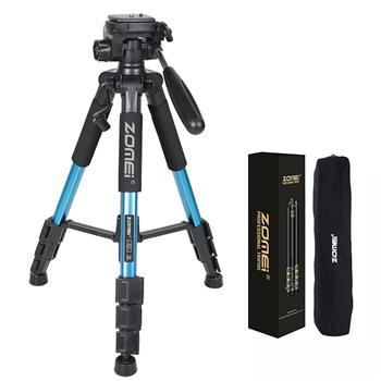"ZOMEI Q111 55"" Professional Aluminum Alloy Camera Tripod for DSLR Canon Nikon Sony DV Video and Smar"