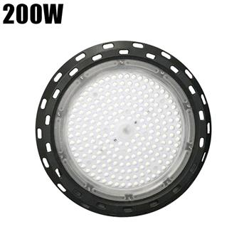 200W 210LED 13750LM Outdoor Waterproof Street Light High Bay Light Factory Gym Lighting Black ZC001166