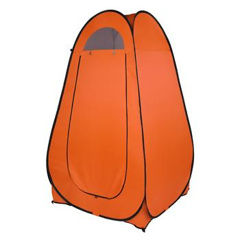 1-2 Person Portable Pop Up Toilet Shower Tent Changing Room Dressing Tent Camping Shelter Orange