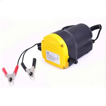 Home Use Mini Type Electric Oil Liquid Transfer Pump Black & Yellow
