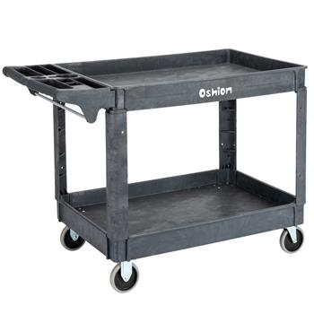 Oshion SC252-L2 Large Two-Layer Plastic Trolley
