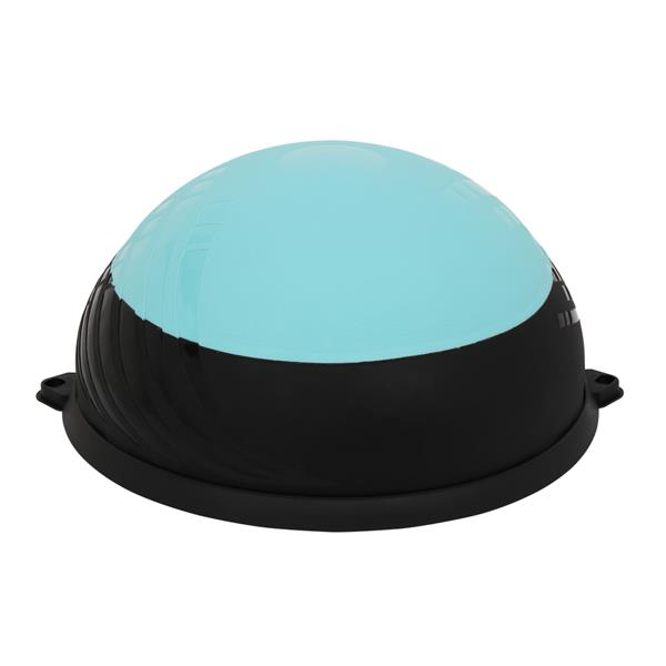 Yoga Ball Balance Hemisphere Fitness for Gym Office Home Upgraded Blue Black