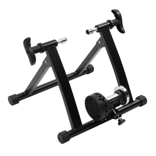 Fixed Reluctance Bicycle Riding Platform Black HS-QX-004A-1 (without Quick Release Lever and Front Wheel Pad)
