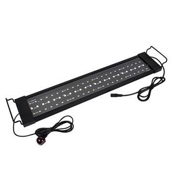 16W 72LED Solar Light Grass Lamp With Remote Control 19.96inch  Suitable For 19.96-33.86inch Long Aquarium Black