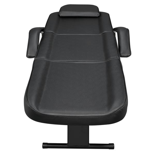 Dual-purpose Barber Chair with Drawer Black