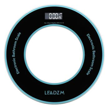 LEADZM 180Kg/50g  Compact Disc Model Personal Weighing Bathroom Scale