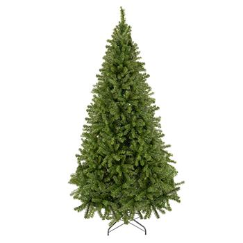 Bonnlo 7.5FT Unlit Artificial Full 1450 Branches Christmas Pine Tree with Sturdy Metal Legs Yellow Green