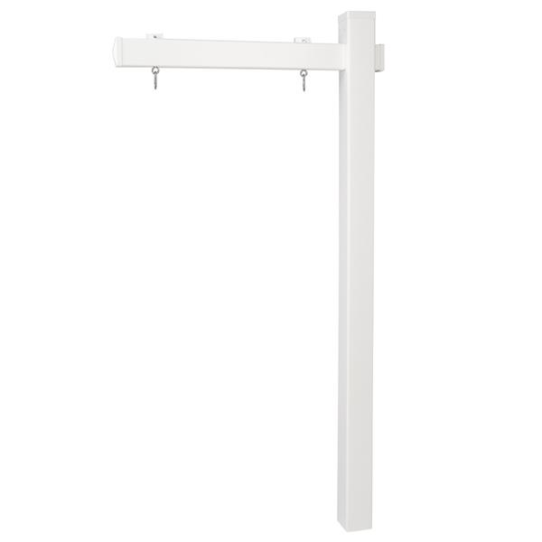"72 * 36 "" Beautiful And Practical White Advertising Column"
