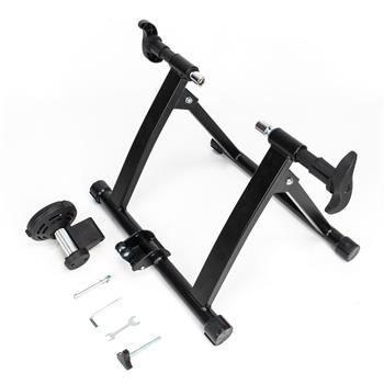 Fixed Non-linear Control Magnetic Reluctance Bike Trainer Black