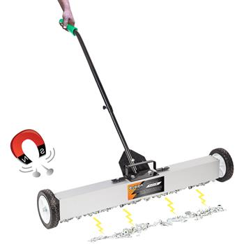 "Oshion 36"" Magnetic Pick-Up Sweeper with Wheels"