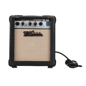 High-Peformance GT-10W Guitar Amplifier Black Suitable for Acoustic and Electric Guitars Not for Bass