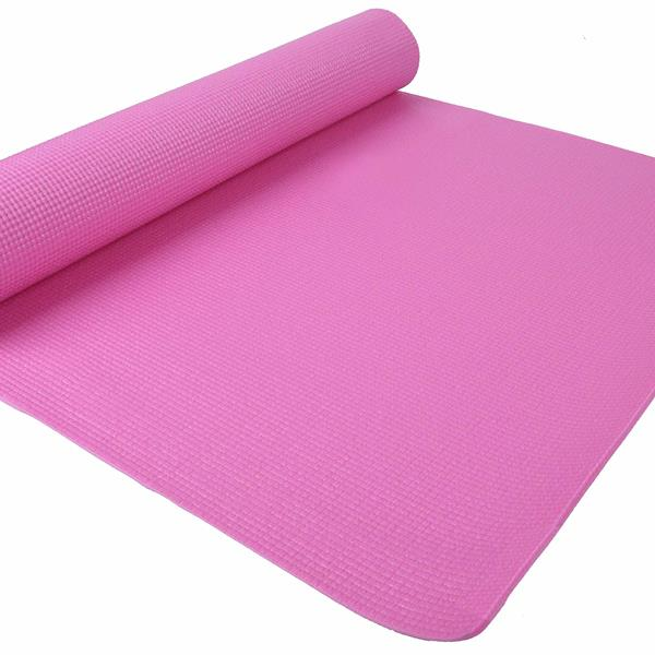 BalanceFrom GoYoga All Purpose High Density Non-Slip Exercise Yoga Mat with Carrying Strap,Pink