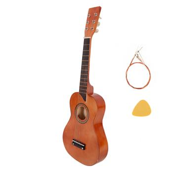 """25"""" Acoustic Guitar   Pick   String Coffee"""
