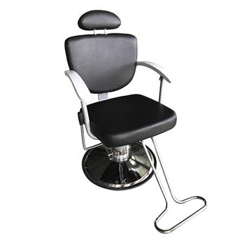HZ8743 Professional Portable Hydraulic Lift Man Barber Chair Black