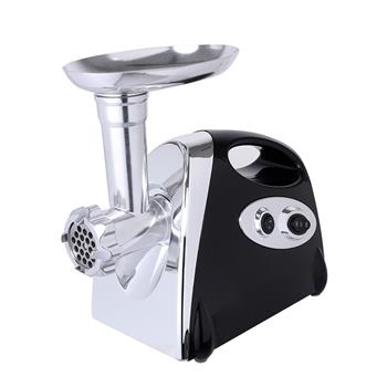 Electric Meat Grinder Sausage Maker with Handle Black