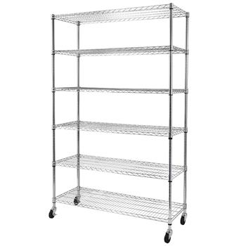 Heavy Duty 6-Shelf Shelving Storage Unit