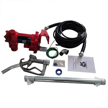 12V Explosion-proof Petrol Pump Assembly Set Red