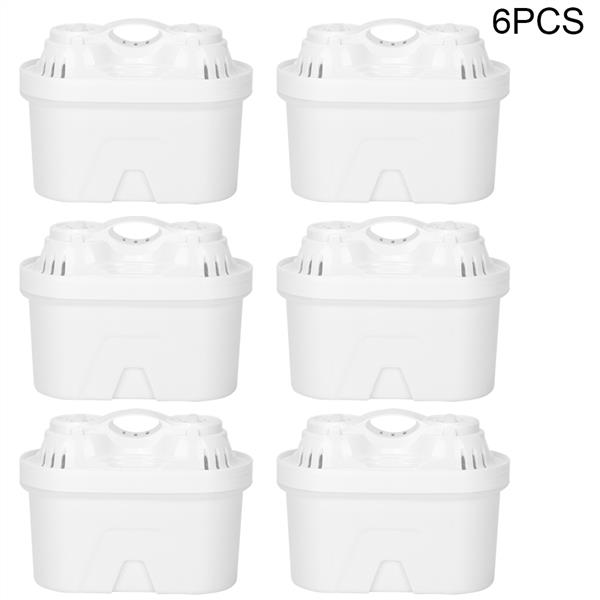6Pcs Replaceable Water Jug Filter Replacement Accessories for Home Water Purification