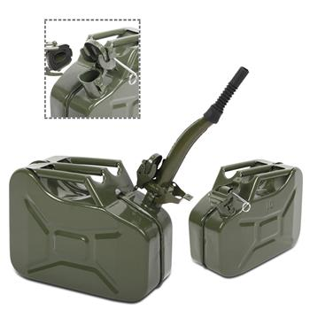 10L 0.8mm American Oil Barrel Army Green With Inverted Oil Pipe