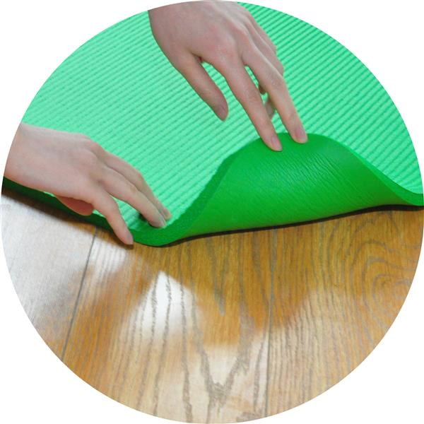 Ban on Amazon platform salesBalanceFrom GoYoga+ All-Purpose 1/2-Inch Extra Thick High Density Anti-Tear Exercise Yoga Mat and Knee Pad with Carrying Strap, Green