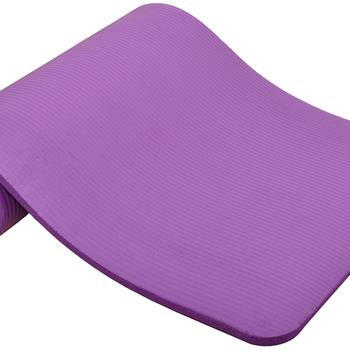 Ban on Amazon platform salesBalanceFrom GoCloud All-Purpose 1-Inch Extra Thick High Density Anti-Tear Exercise Yoga Mat with Carrying Strap, Purple