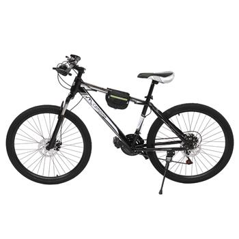 [Camping Survivals] 24-Inch 21-Speed Olympic Mountain Bike Black And White