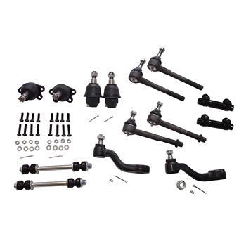 14PC Complete Front Suspension Kit For 1995 K1500 K2500 Suburban Yukon Tahoe 4WD