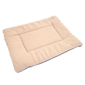 Washable Soft Comfortable Silk Wadding Bed Pad Mat Cushion for Pet Off-white XL